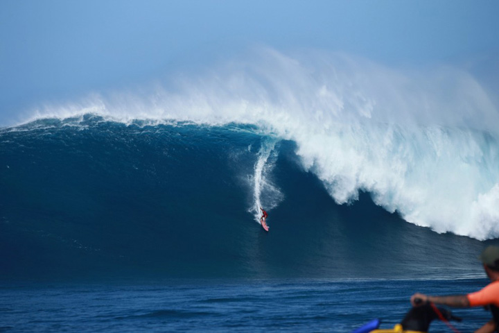 Biggest Wave Ever Paddled at Jaws