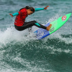 Rip Curl's Taina Izquierdo Charges to 2nd Place in Taj's Small Fries Championships