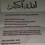 Threatening Letter Warns of Impending Attacks on Bali Island