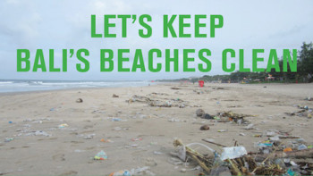 Help and Keep Bali's Beaches Clean