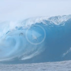 Video: 18-year-old Steffi Kerson Wipeout At Teahupo'o