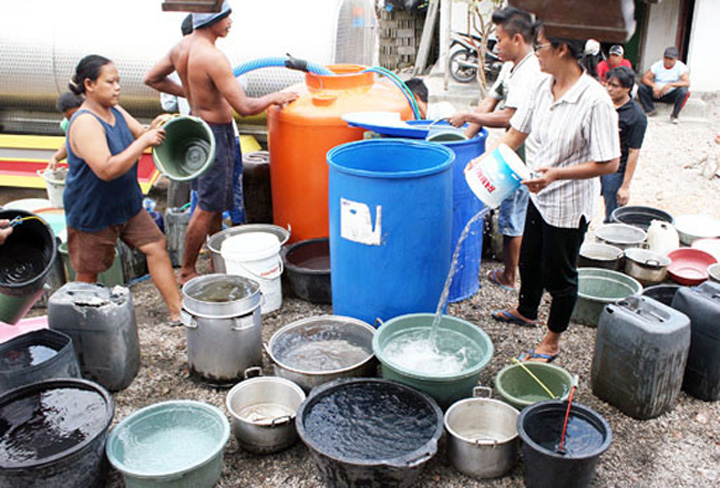 Bali Running Out of Water