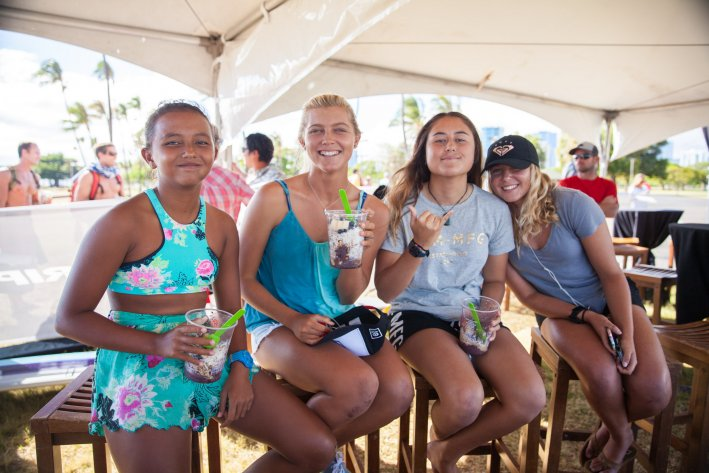 Rio Waida and Cinta Hansel Make Qualify for Quarter Finals of Rip Curl GromSearch International
