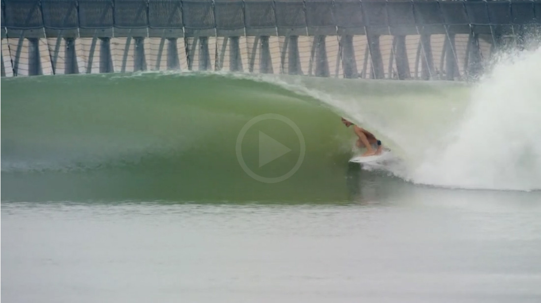 Video: Another Super Session At Kelly Slater Waves Pool