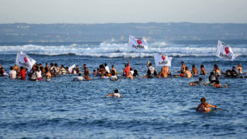 Balinese Surfers Against Benoa Project Reclamation