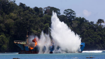 Indonesia To Sink 30 Foreign Vessels For Illegal Fishing