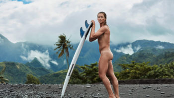 Courtney Conlogue Gets Naked for 2016 ESPN Body Issue