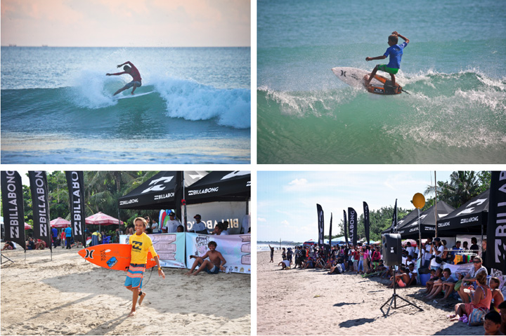 The First Leg Of 2016 Billabong Grommet Attack Series Kicks Off in Kuta