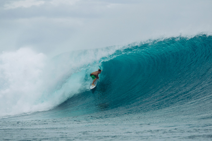 Garut Widiarta Prepares for Rip Curl Cup with Gabriel Medina and Matt Wilkinson in Remote Indo
