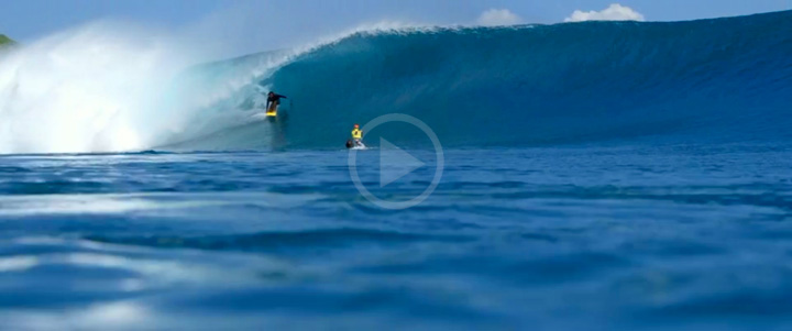 Video: No Crowds, Endless Swell With Tai Graham and Friends