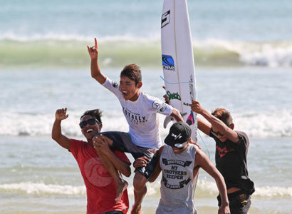 Volcom's Totally Crustaceous Tour 2016 Crowns Champions at Kuta Beach in Season Finale