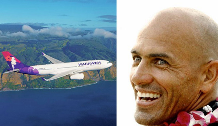 Hawaiian Airlines Responds to Kelly Slater's Criticism