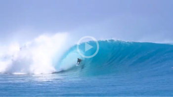Video: Dean Morrison Blazing Through Indo Barrels