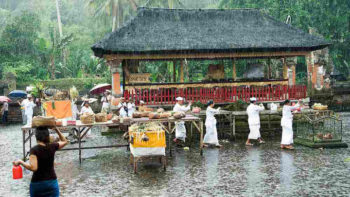 Rainy Season has Begin in Bali with Heaviest Rains to Fall December 2016 until February 2017