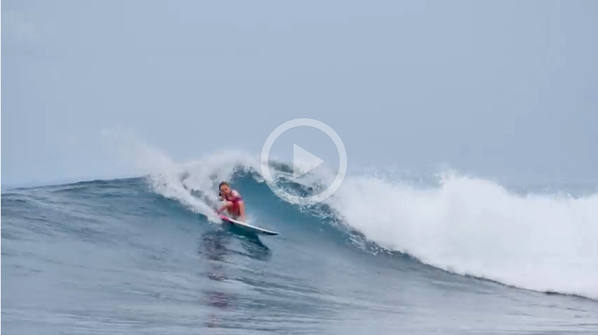 Video: Josh Kerr's 9-Year-Old Daughter Rips Mentawai Island