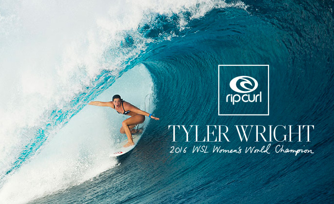 Video: Tyler Wright 2016 WSL Women's World Champion
