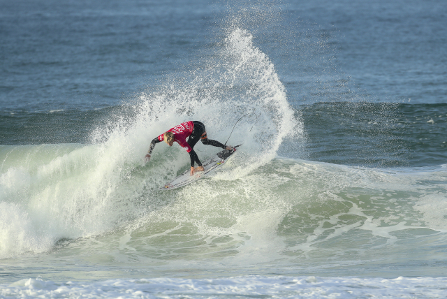 Kolohe Andino during the Rip Curl Pro Portugal.