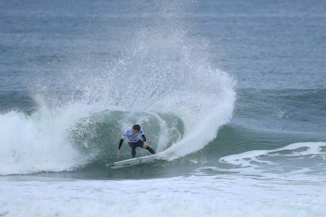 Ryan Callinan during Round 1 of the Rip Curl Pro Portugal