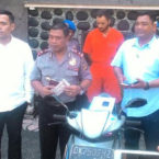 Foreign College Student Caught Stealing Motorbike in Bali