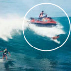 Jet-Ski Runs Over Surfer This Morning at Uluwatu