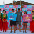 Rio Waida and Dhea Natasya Won Indonesia Rip Curl GromSearch Final
