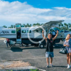 Video: Ellie-Jean Coffey Together With Brother Jackson in Indonesian Paradise