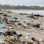 Bali Officials Working Overtime to Remove Seasonal Wash Up of Trash on Kuta Beach
