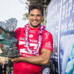 Michel Bourez Wins Billabong Pipe Masters