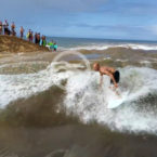 Video: Kelly Slater Surfs Wave of Waimea River Mouth