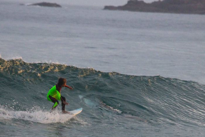 Chilling Moment Photo Shows 10-Year-Old Surfing Over Great White Shark