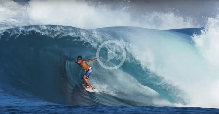Video: Bronson Meidy, Might be The Best 11 Year-Old Surfer?