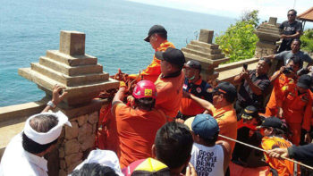 Tourist Falls to Death From Cliff at Uluwatu