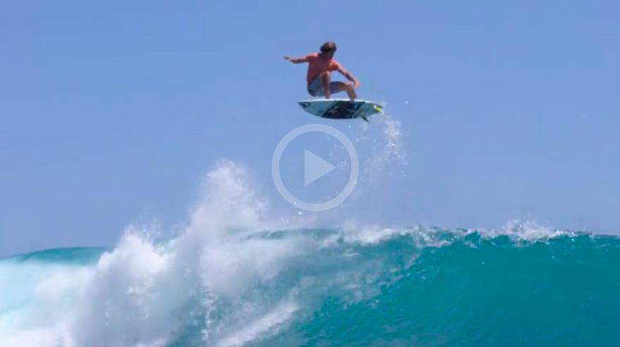 Video: Dora, Wright, Burch And Coleborn In Goofy-Foot Paradise