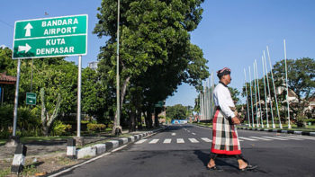 Bali Tourist Destinations Look Empty on Nyepi Day, Four Tourists Caught Wandering Kuta