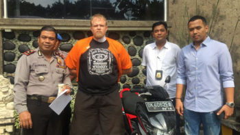 Foreign Tourist Arrested in Bali for Stealing a Motorcycle