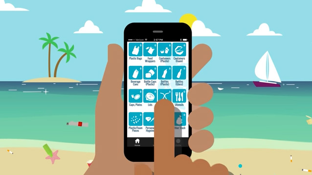 "Start ""Collecting Trash"" With Clean Swell App"