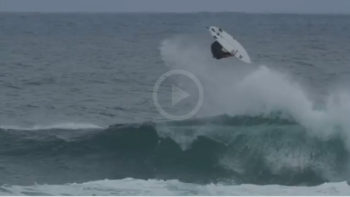 John John Florence Lands Casual Backflip