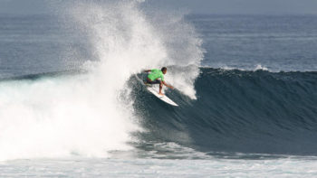 First Ever Krui Pro Starts In Excellent Surf