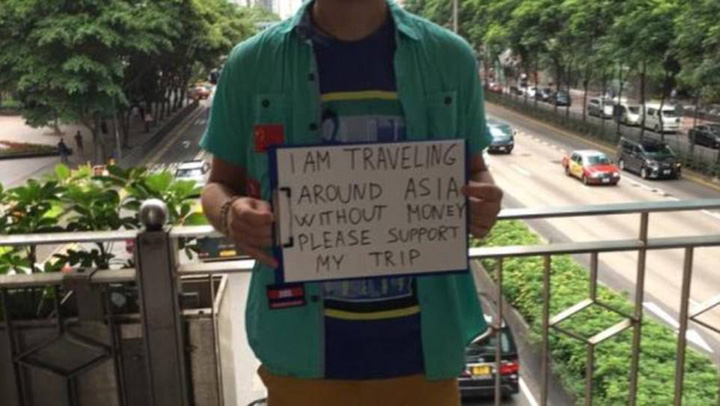 Backpackers in Southeast Asia Have Started Begging to Fund Their Trip Through The Continent