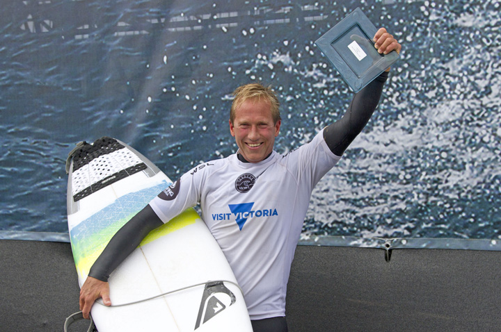 43 Year Old Wins Wildcard for Rip Curl Pro Bells