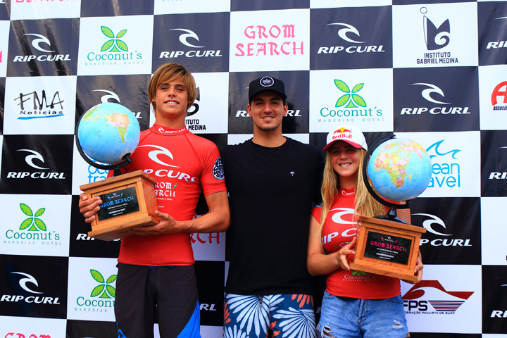 Kade Matson And Caroline Marks Win The 2017 International Rip Curl GromSearch Final