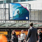 G-Land Waves on Display at Amsterdam Airport, To Promote Indonesia Surfing