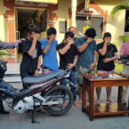 Bali Police Arrested Armed Thieves Gangs