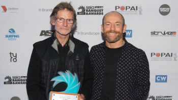 "Rip Curl and John ""Sparrow"" Pyburne Honoured at The 2017 SBIA Awards"