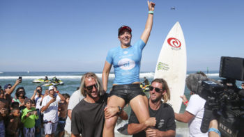 Tyler Wright Is Back on Top After Defeats Johanne Defay in The Final Of Oi Rio Pro