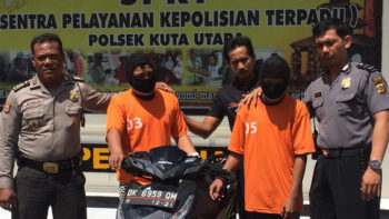 Two Indonesian Men Arrested for Stealing Purse of Czech Tourists in Canggu