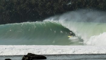 Video: Mikala Jones and Marlon Gerber Score Big in The Indonesian Surfing Crown, Nias