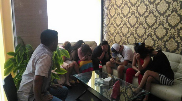 """Happy Ending"" Spa Raided By Bali Police"