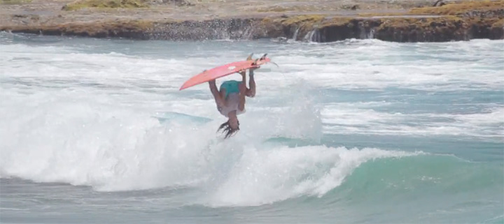 "Video: Hector Santamaria Does The ""Flippy Moppy Flip"""