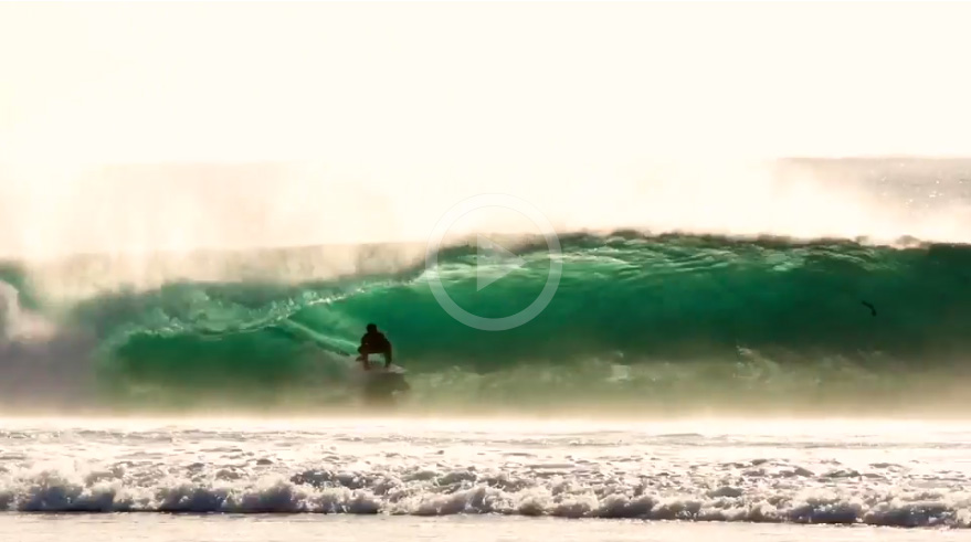 Video: Relentless Swell Lines In Indo